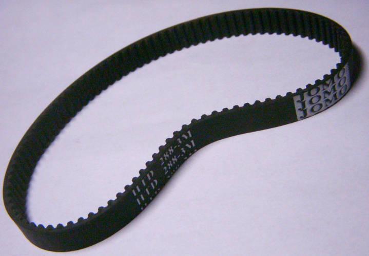 Резиновый зубчатый ремень HTD 288-3M для электрорубанка