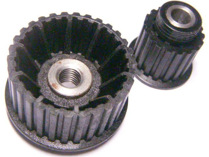 Комплект шкивов 47 и 28 для электрорубанка Фиолент Р2-82, ИЭ-5714