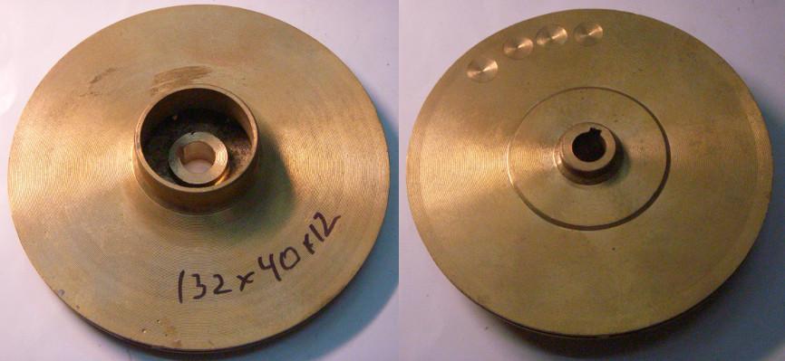 Латунная рабочее колесо 132*12*40 для гидрофора