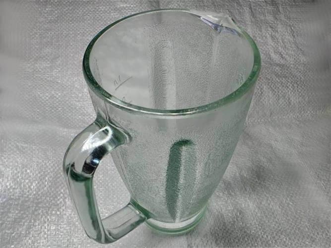 Стеклянный стакан миксера кухонного комбайна Мрия