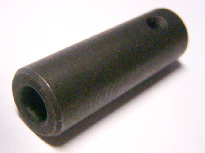 Соединительная муфта для валов электрокосы через боковые спилы