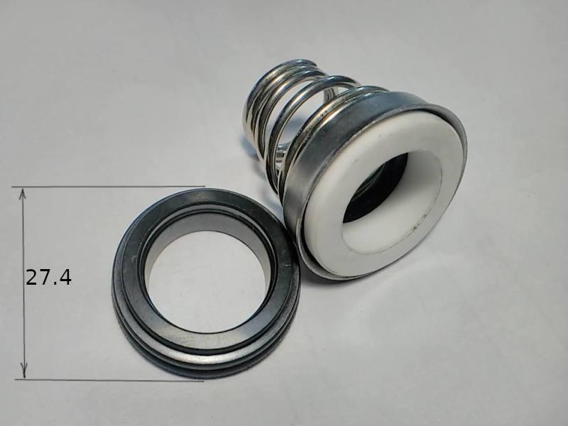Прижимное уплотнение 155-15 на вал насоса диаметром 15 мм