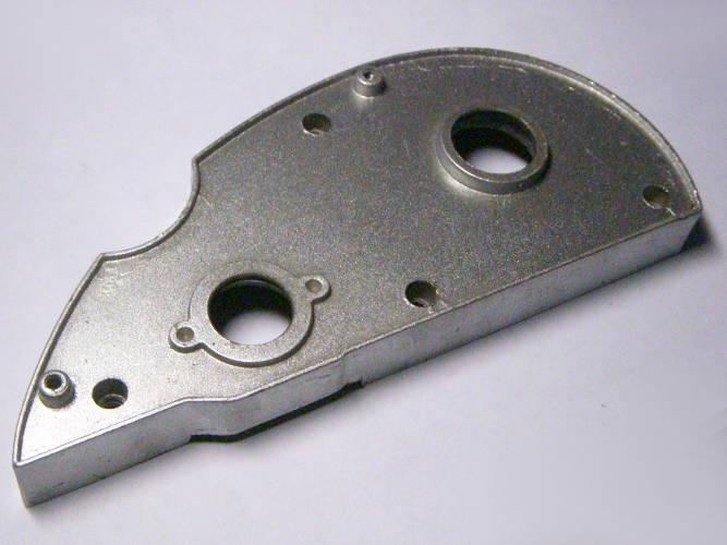 Корпус редуктора рубанка размером 196*85 мм