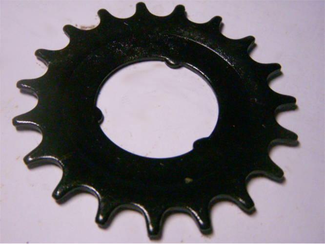 Велосипедная каленая звезда на 19 зубов посадкой на 37 мм