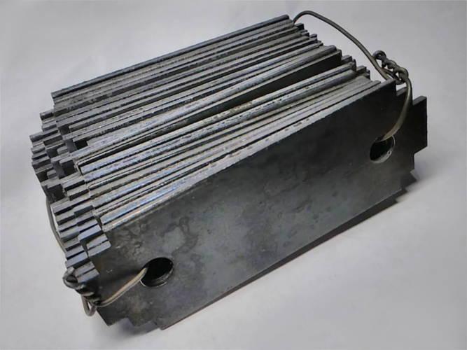 Молотки 95*35-d8 повышенной дробильности на измельчитель Эликор 01