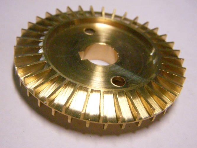 Крыльчатка для вихревого насоса Сristal, Optima QB60, AUQB 60