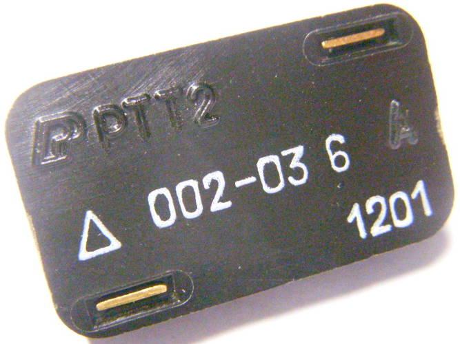 Пусковое реле РТТ-2 на 6А исполнения ЛГИШ.647314.002-03