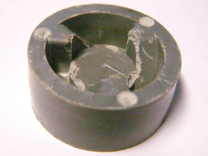 Полумуфта резиновая (ПМР) для кухонного комбайна Мрия