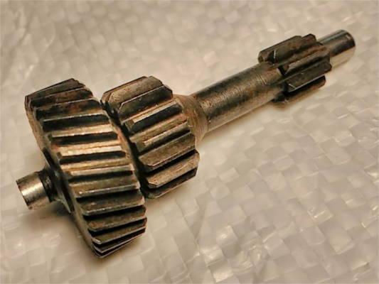 Зубчатый блок китайской электродрели типа Конаково