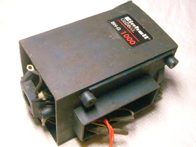 Корпус двигателя перфоратора Einhell BH-G 1000 в сборе со статором