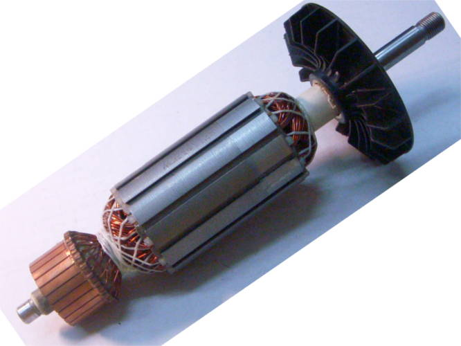 Якорь 230-й болгарки Фиолент 2000Вт диамтром 6 мм