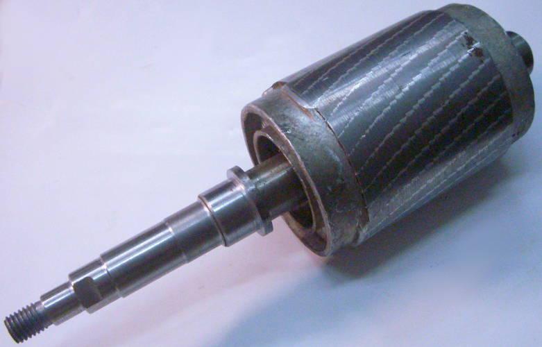 Ротор под резиновый сальник для насоса БЦН 1.1