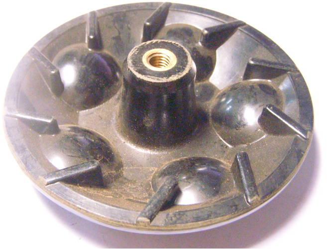 Активатор 108 мм для стиральной машины Малютка, Отрада, Десна на правую резьбу