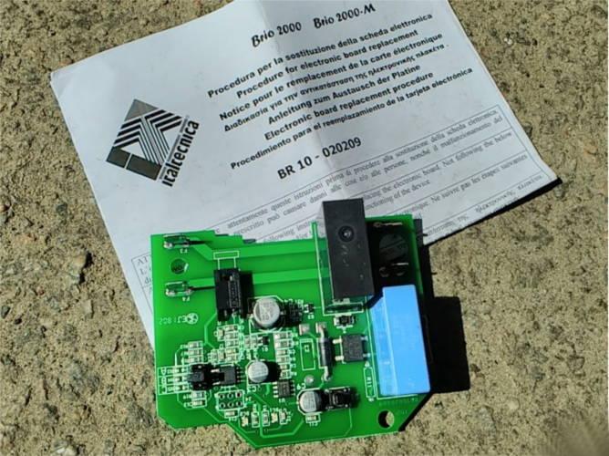 Плата автоматики Brio 2000  BR 10 - 020209 насосной станции