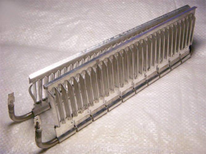 Нагревательный электротэн конвектора длиной 28 см