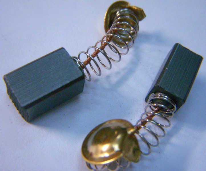 Щетки 6.5*7.5 мм коллектора перфоратора бочка