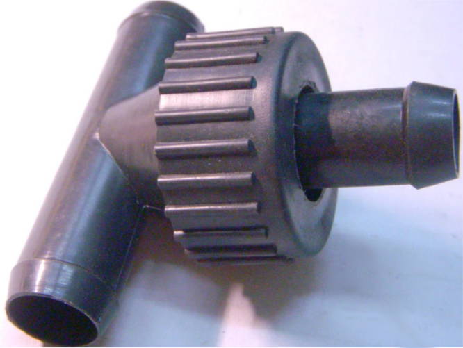 Простой клапан для стиральной машины Чайка, Сибирь, Волна