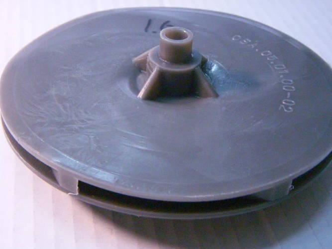 Рабочее колесо 130x38 для дренажного насоса БЦН Водолей 1,6