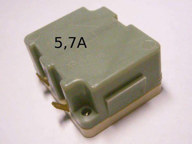 Пускозащитное реле РТК-(1)МУ УХЛ4.2 - 5.7 A для фермерской техники