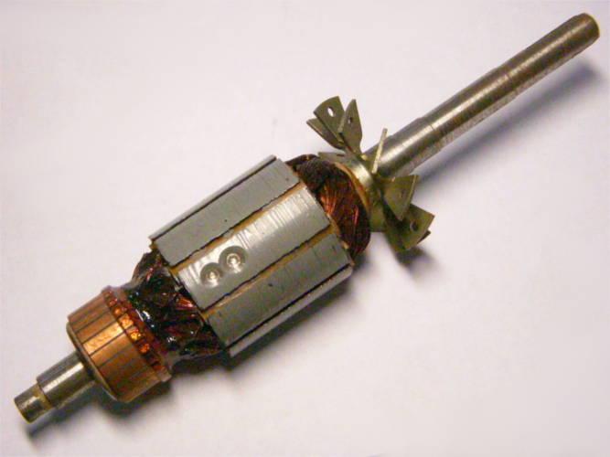 Якорь сепаратора ПЕРМЬ под электродвигатель КС-4 с косым пазом