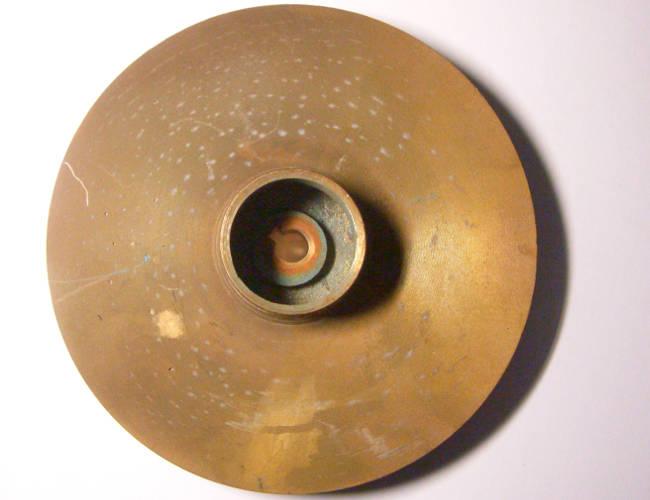 Латунное рабочее колесо 145*41*10 диаметром 145 мм