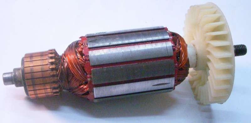 Якорь двигателя электрорубанка Темп 1100