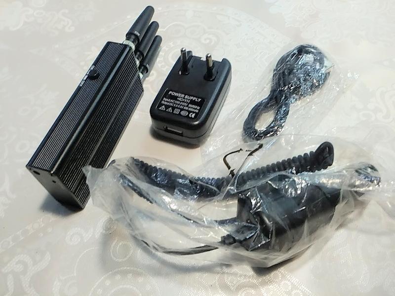 Карманный подавитель мобильной связи (глушилка GSM / 3G)