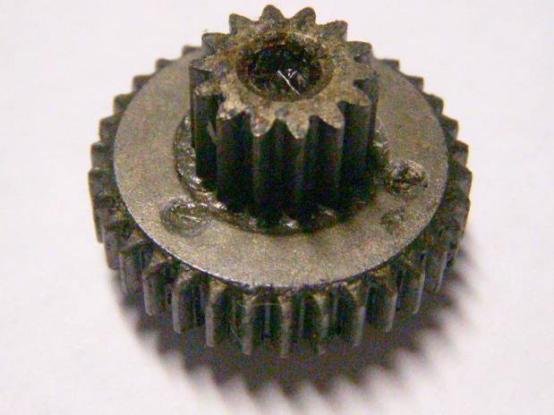 Зубчатая кассета редуктора шуруповерта на 14 зубов