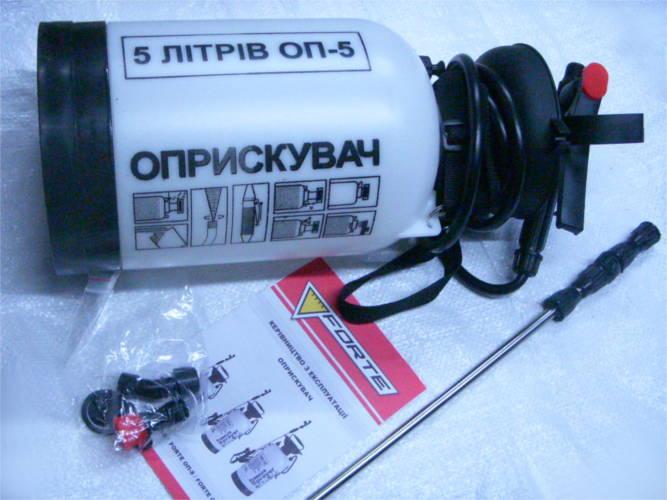 Круглый опрыскиватель Forte ОП-5 на 5 литров