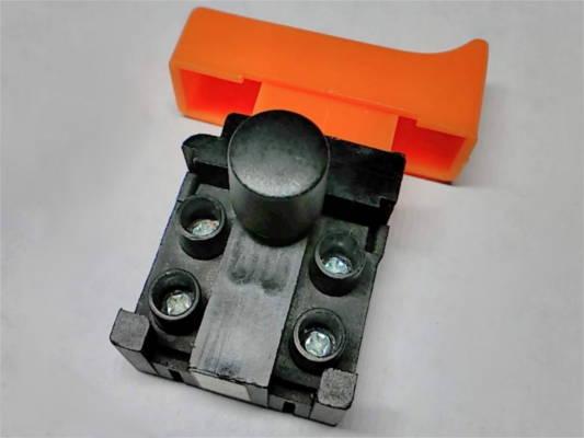 Кнопка FA4-5/2BD 14*44 с защитой для шлифовальной машины