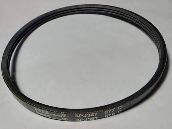 Трехручейковый ремень 3PJ367 шириной 7 мм