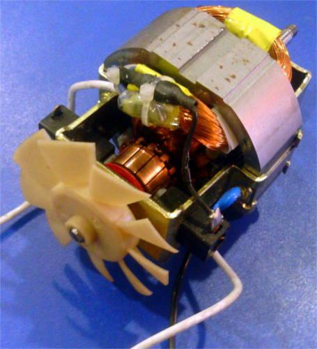 ЭлектроДвигатель с открытым коллектором и коротким валом