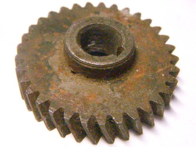 Шестерня безударной электродрели диаметром 37*8 мм