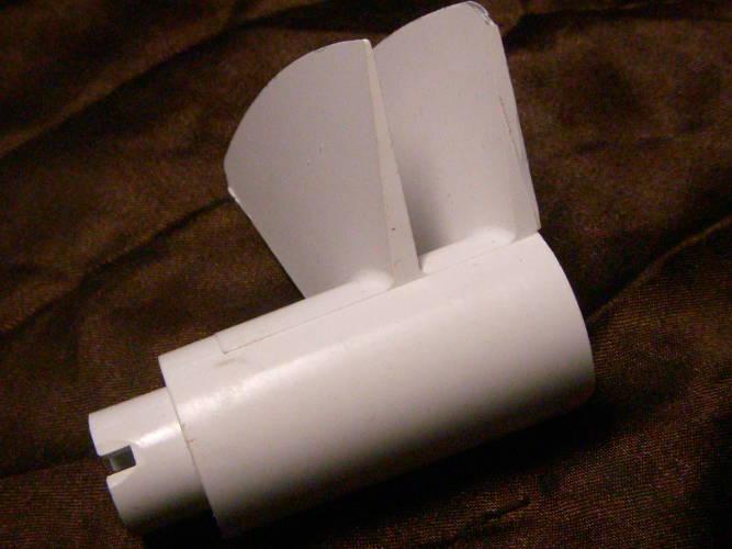 Выбрасыватель жмыха электросоковыжималки Журавинка