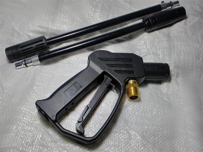Пистолет со штуцером 22 мм для мойки Tekhmann PWA-2158 turbo