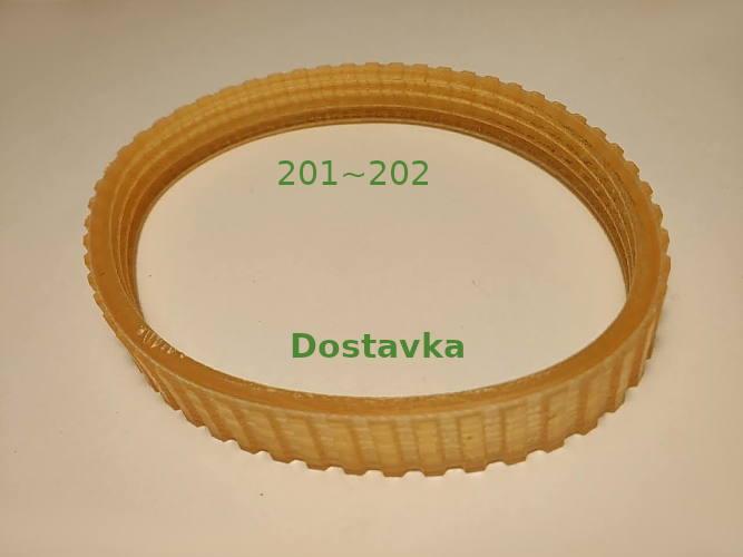 Поликлиновой ремень 4PJ215-10 рубанка Vertex, Dorkel DRP-60, DIN/ISO