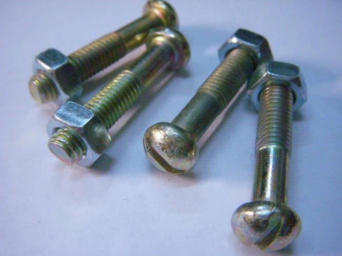 Крепежный комплект винтов для вибрационного насоса под отвертку
