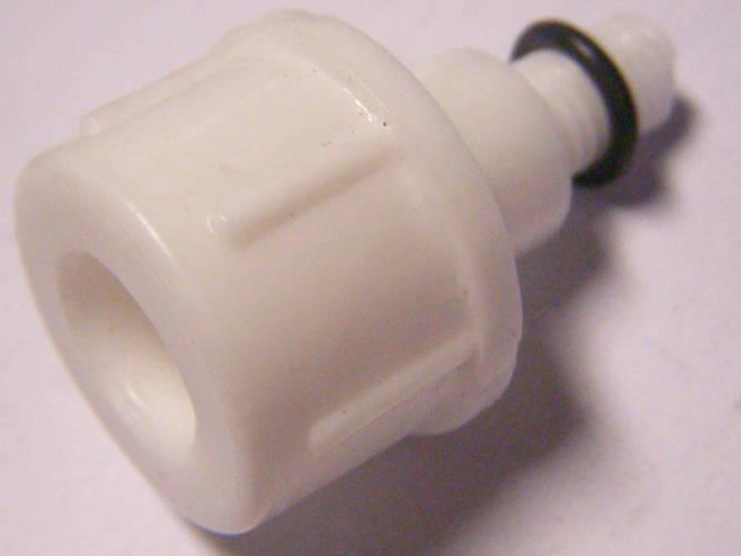 Пластиковая дренажная пробка корпуса насоса Агидель