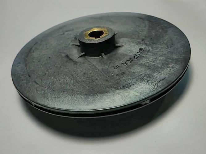 Тонкое колесо ∅135*12*34 h3-8 для насоса JSWm 10 шпонка