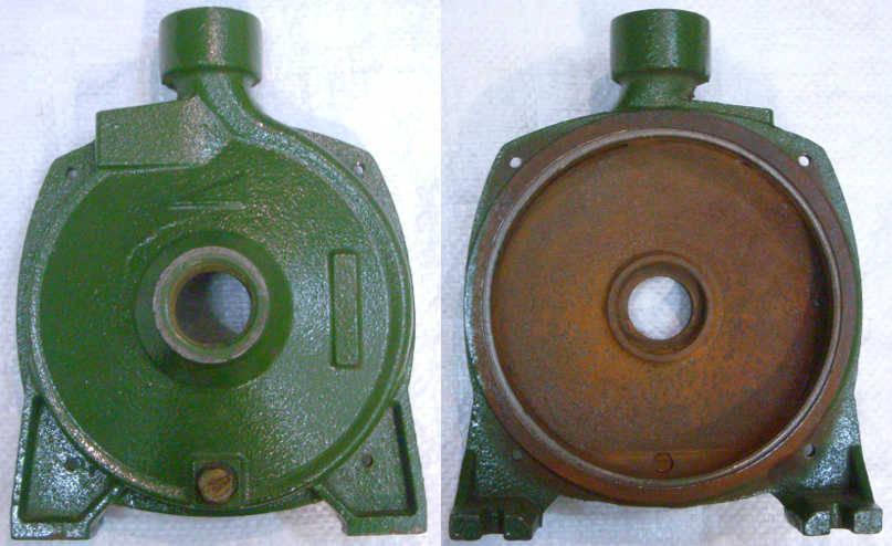 Передняя чугунная крышка поверхностного насоса CPM-146