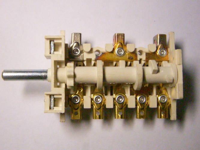 Переключатель 5HT 006 P120712 для электроплиты Greta, Indesit