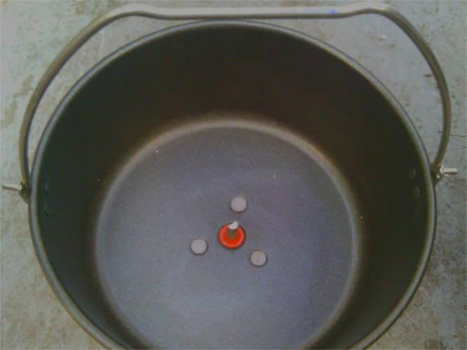 Круглая с одной лопаткой