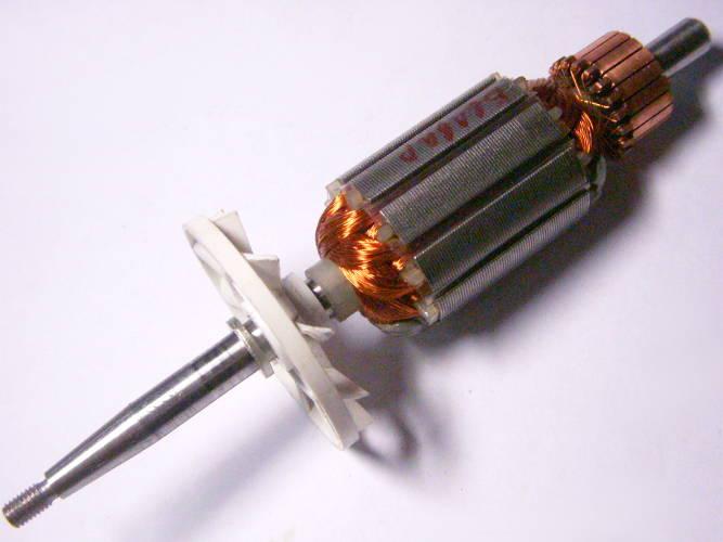 Якорь 154*31 мм для электромясорубки Белвар