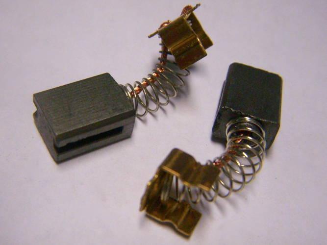 Щетки для болгарки 9*6 мм с прорезами на пружинке