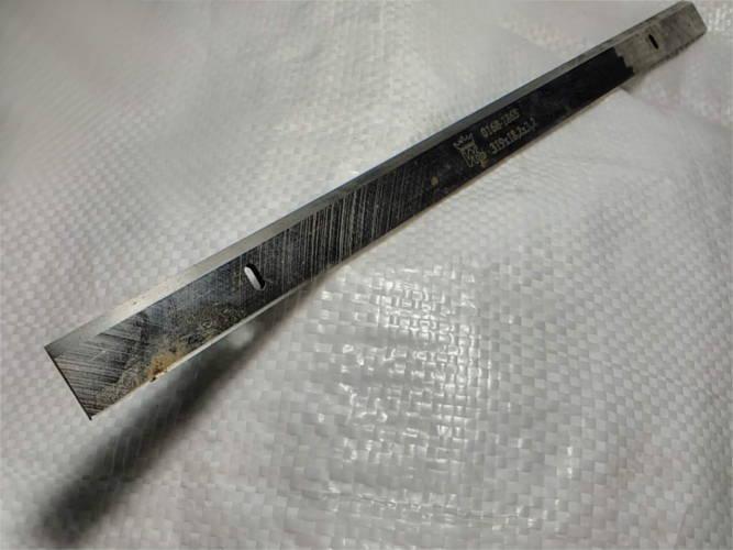 Нож 319*18.2*3.2 для рейсмуса посадка 216 мм