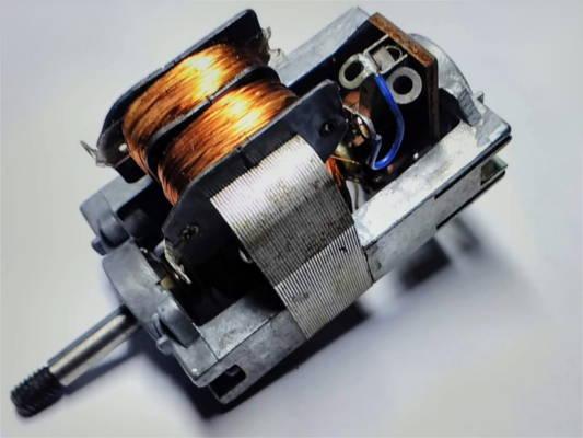 Электродвигатель советской электрокофемолки ЗММ