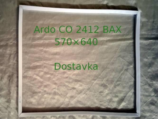 Уплотнитель 570×620 двери холодильника Ardo CO 2412 BAX