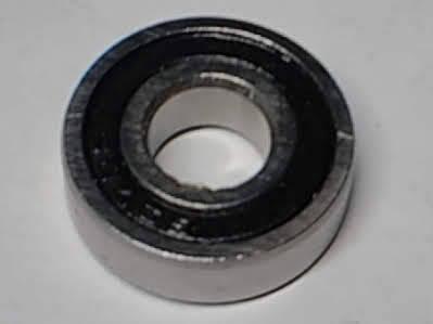 Шариковый радиальный подшипник 697RS (7x17x5)