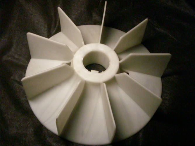 Крыльчатка охлаждения двигателя 180-го габарита диаметром 290 мм