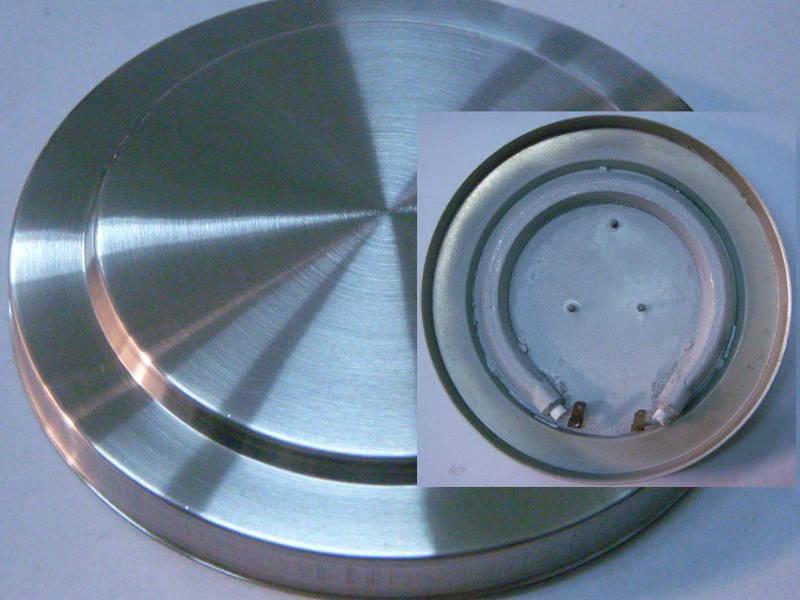Дисковый нагревательный тэн ∅150 мм 3 шпильки